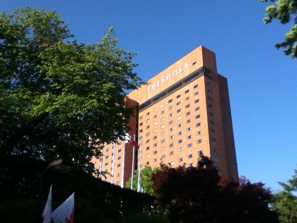 韓国 新羅ホテル Executive Floorに泊まってきました。