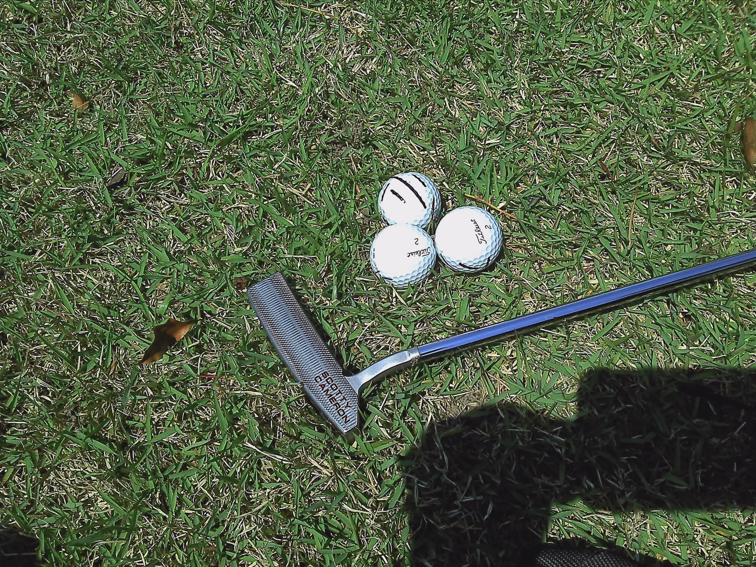 箕面ゴルフ倶楽部パター練習