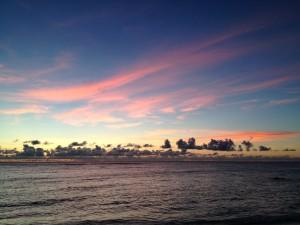西表島 宇那利崎の浜辺