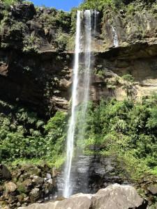 カヌーでピナイサーラの滝までいきました。